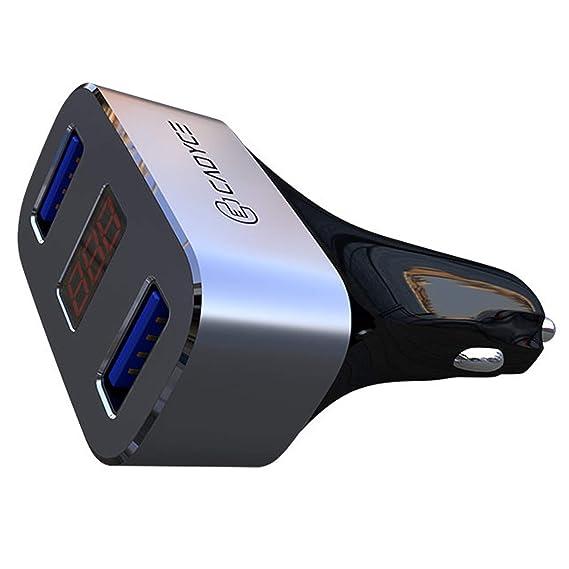 Amazon.com: Cadyce - Cargador de coche USB dual, tecnología ...