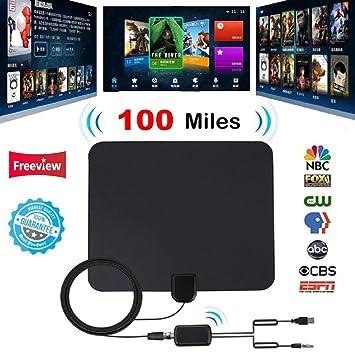 Review Indoor Digital TV Antenna