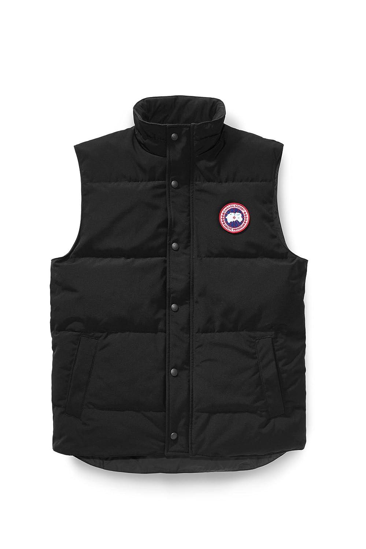 (カナダグース) CANADA GOOSE メンズ Garson Vest Men's Style # 4151M [並行輸入品] B075KF6S9V M|ブラック ブラック M
