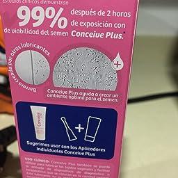 Conceive Plus Lubricante para La Fertilidad, Tubo 75ml: Amazon.es: Salud y cuidado personal