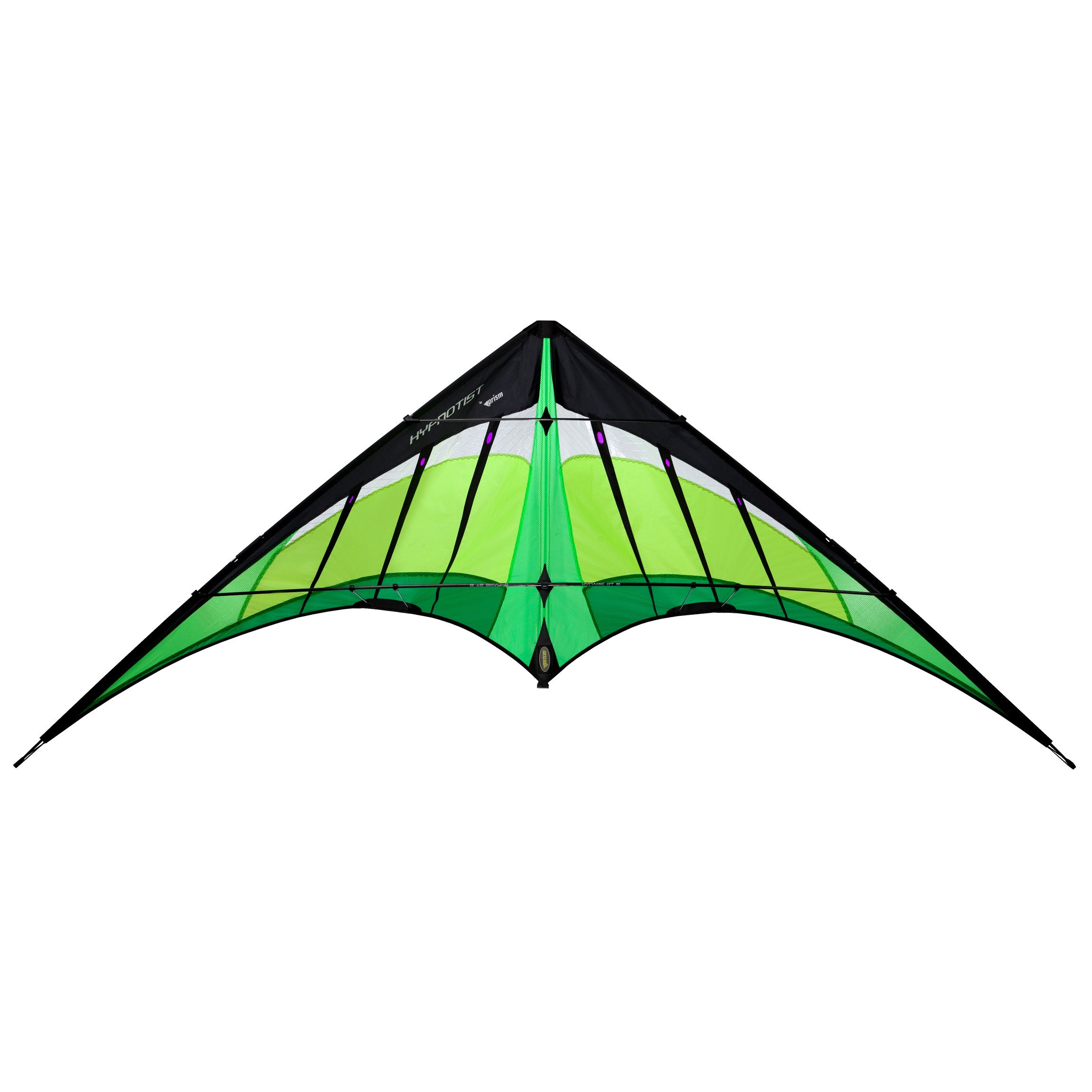Prism Hypnotist Dual-line Stunt Kite, Citrus by Prism Kite Technology