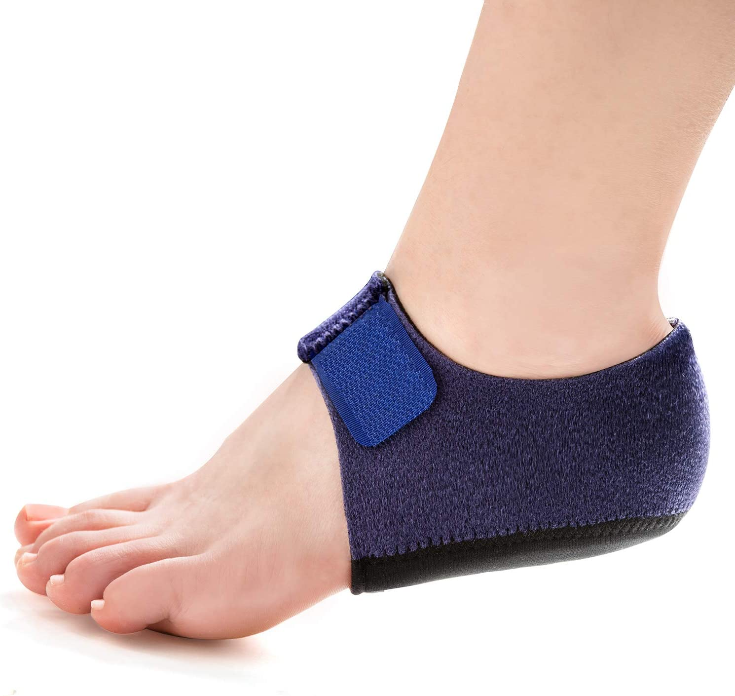 Amazon.com: Welnove 2PCS Heel Protectors, Heel Sleeves Pads, Heel Pads  Cushion, Heel Support for Relieving Heel Pain from Plantar Fasciitis - Heel  Spur -Tendinitis- Cracked Heels: Health & Personal Care