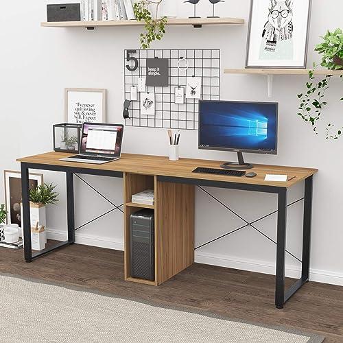Editors' Choice: sogesfurniture 78 inches Large Double Workstation Dual Desk Home Office Desk 2-Person Computer Desk Computer desks