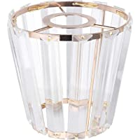 FRCOLOR Crystal Chandelier Shades Ceiling Light Holder Cover for Dining Room Home Hanging Light Fixtures Pendant Lamp…