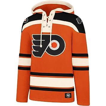 Fanartikel NHL Philadelphia Flyers 47 Brand Lacer Hoodie Kapuzenpullover Sweatshirt Herren Weitere Wintersportarten
