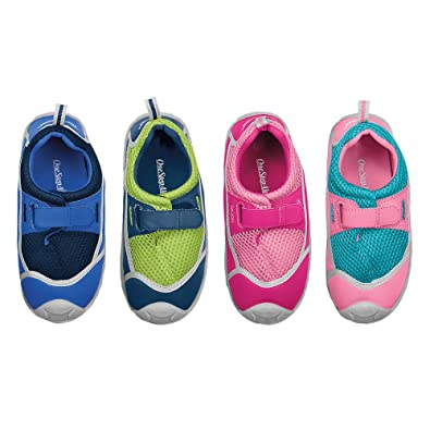 0e5758ee8587 Amazon.com  Kid s Stay-Put Swim Shoes BLUE NAVY 9 TODDLER  Baby