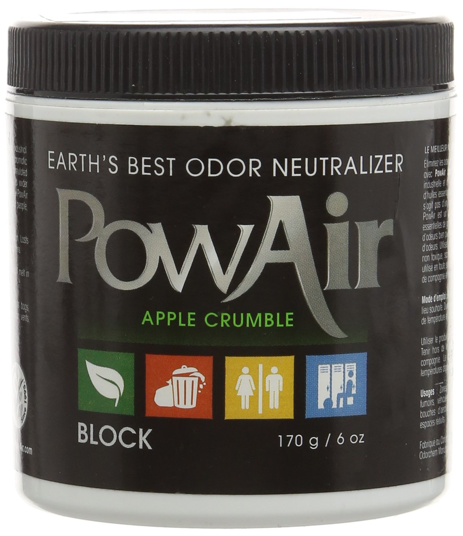 Earth 's Best Odor Neutralizer POWAIR Apple Crumbleブロック B01CQIRGQE