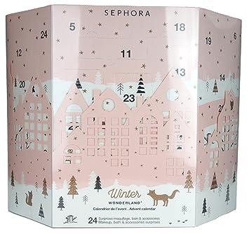 Make Up Weihnachtskalender.Sephora Winter Wonderland Adventskalender 24 Make Up Bath Accessories Surprises