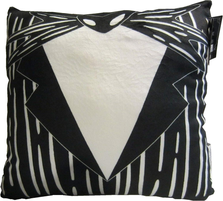 Amazon Com Seasonal Nightmare Before Christmas Jack Skellington Tuxedo Squishy Decorative 14 Inches Throw Pillow Home Kitchen