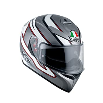 AGV Casco Moto K-3 SV E2205 Multi plk, Mizar Dark Grey/White
