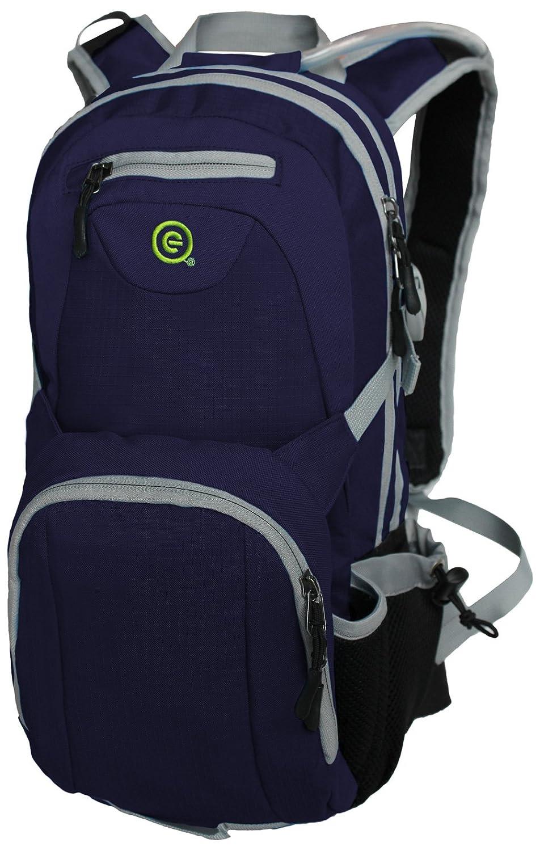 Ecogear製品bg-3757-b水犬2l Hydrationバックパック – ブルー   B07124ZL4V