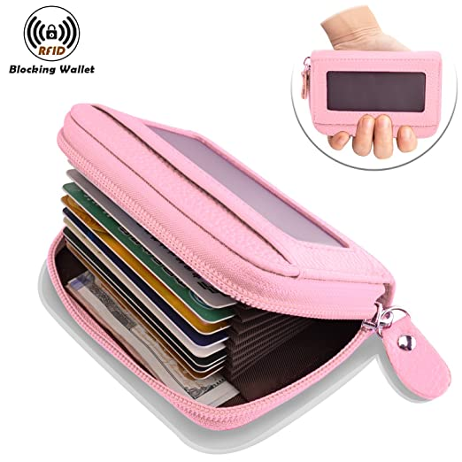 finest selection d91e0 7f81d Rfid Wallet Women and Men,Ladies Credit Card Holder,Rfid Wallet  Leather,Ladies Purse RFID Protector Genuine Leather