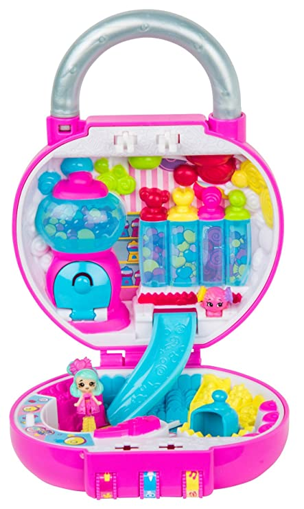 55ad4ce0b99 Amazon.com  Shopkins Lil  Secrets Secret Lock - So Sweet Candy Shop  Toys    Games