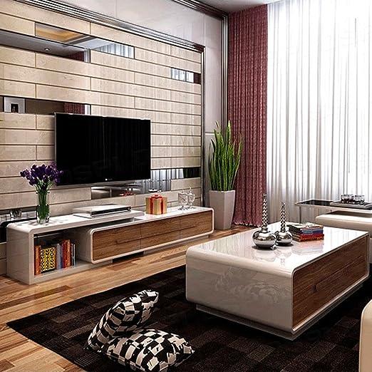 Amazonde Ospi Weiße Hochglanz Möbel Verstelllbarer Tv Ständer Und