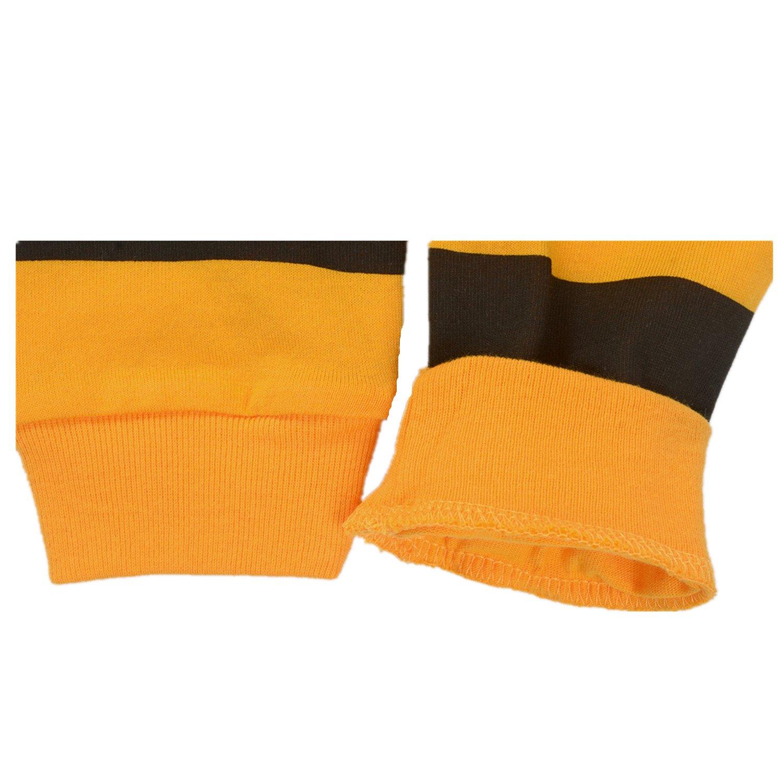 Cczmfeas Girls Pajamas Sets Bee Kids Pjs Cotton Long Sleeve Sleepwears 2-7 Years