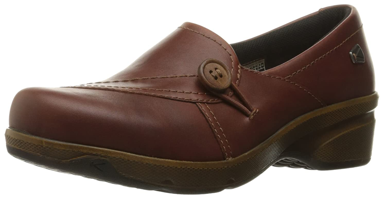 Keen Women's Mora Mid Button Shoe, Barley, 5 M US