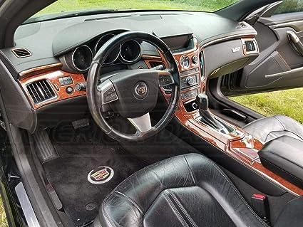 Amazon Com Cadillac Cts Coupe 2 Door Interior Wood Dash Trim Kit