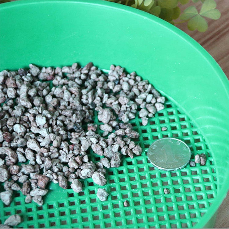 HEYJUDY Soil Plastic Sieve Gardening Supplies Plastic Net Sifter Household Planting Soil Stone Filter
