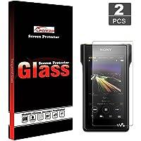 LFOTPP Sony MP3 MP4 NW-WM1A/NW-WM1Z Walkman Player Screen Protector Foils High Definition Tempered Glass Scratch-Proof…