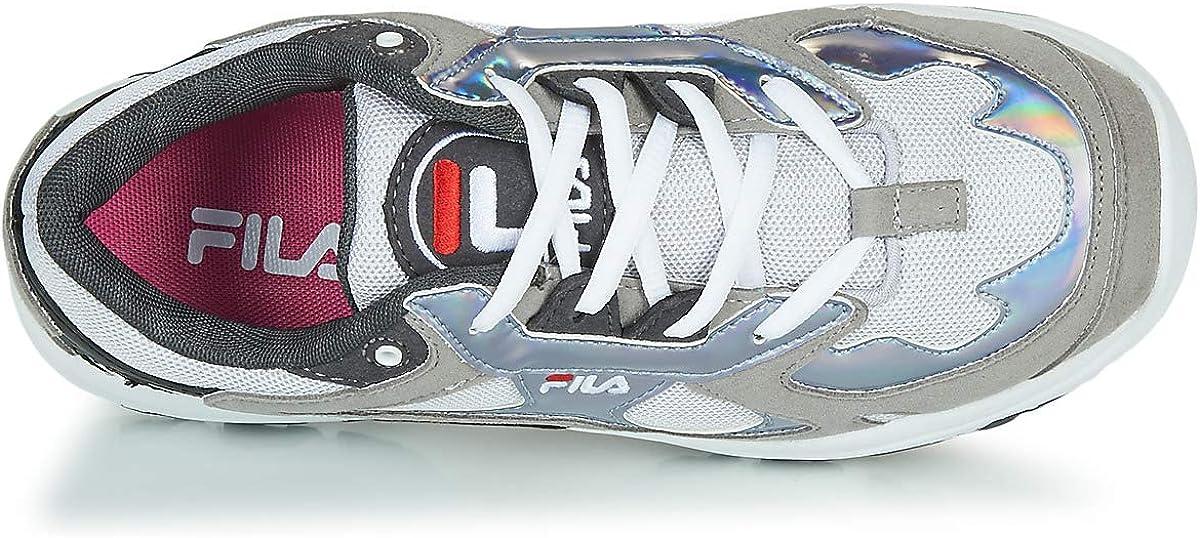 amazon fila casual zapatillas plata