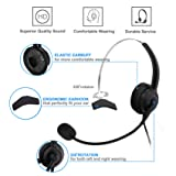 Corded Phone with Headset,Valoin Hands-free