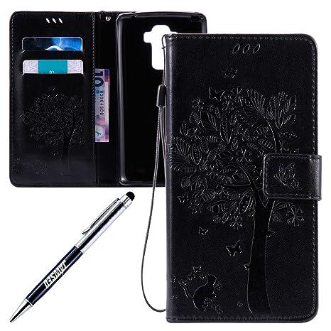 Carcasa LG G4 Stylus LS770, Funda LG G Stylo LS770, JAWSEU ...