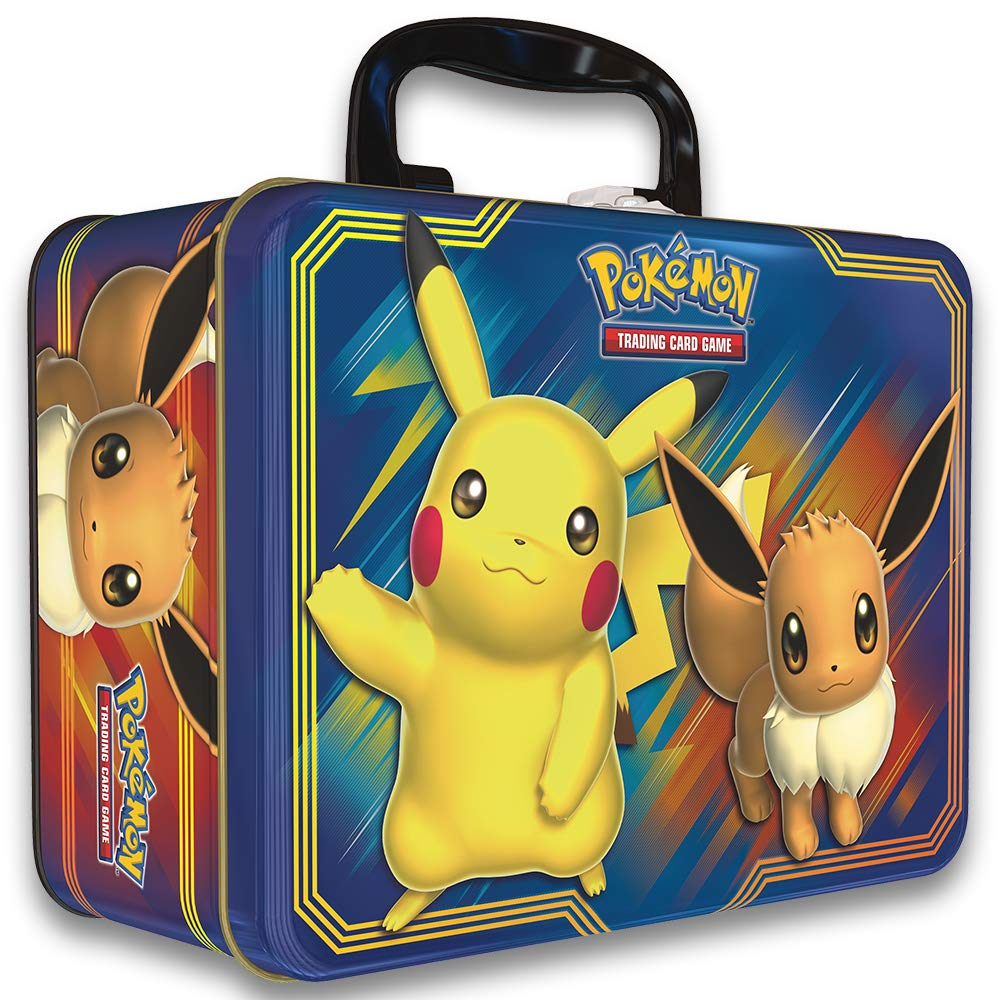 Pokemon TCG: Fall 2018 Collector's Chest Tin Featuring Pikachu & Eevee