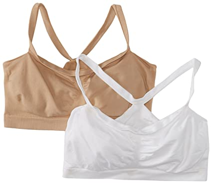 63ef23550b Hanes Women s The Bandini Wire Free Bra (Pack of 2) at Amazon ...