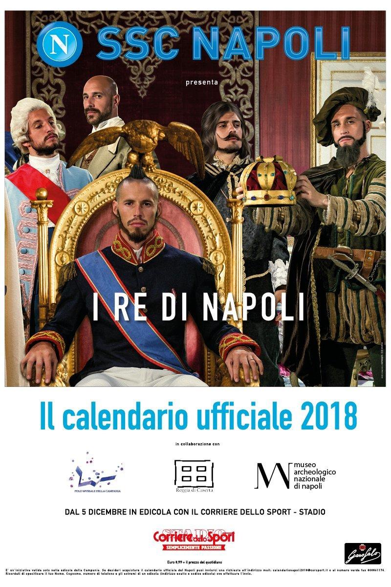 Corriere Dello Sport Calendario.Calendar Scc Napoli 2018 Amazon Co Uk Office Products