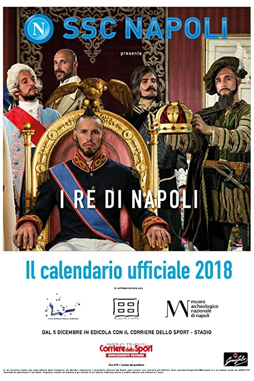 Ssc Napoli Calendario.Calendar Scc Napoli 2018 Amazon Co Uk Office Products