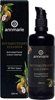 product image for Annmarie Skin Care Phytonutrient Cleanser - Activated Facial Cream Cleanser with Coconut Oil, Mango Seed Butter + Acai Oil (100 Milliliters, 3.4 Fluid Ounces)