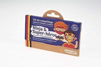 Namaki K3NS9 - Kit de maquillaje para disfraz de niños ...