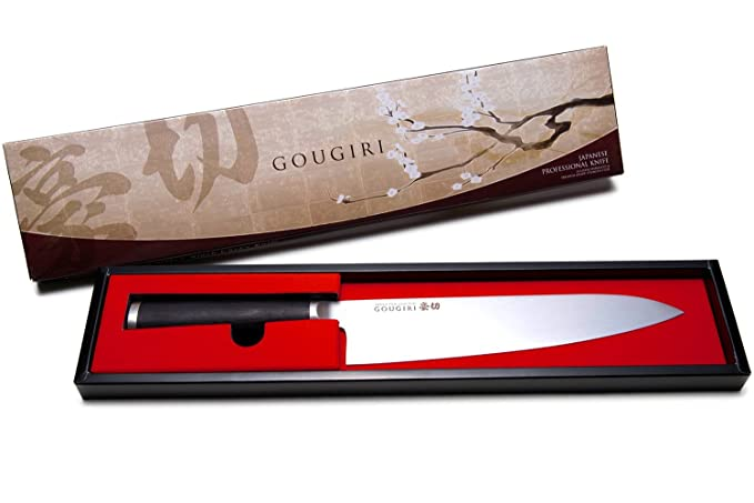 Amazon.com: GOUGIRI cuchillos, Plateado: Kitchen & Dining