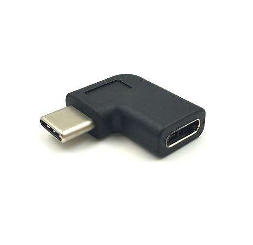 2 opinioni per Maxhood USB C tipo C maschio a femmina, destra e sinistra ad angolo di 90gradi