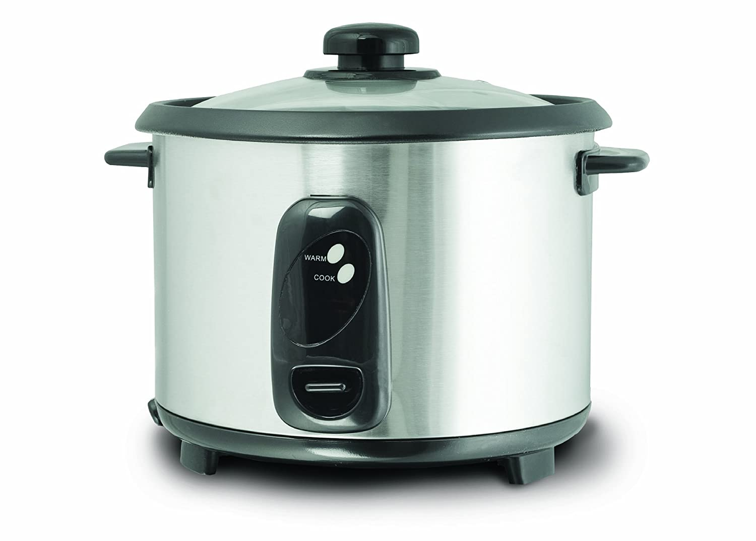 Amazon.com: Daewoo DEAW-DRC444 1.8-Liter Stainless Steel Rice Cooker ...