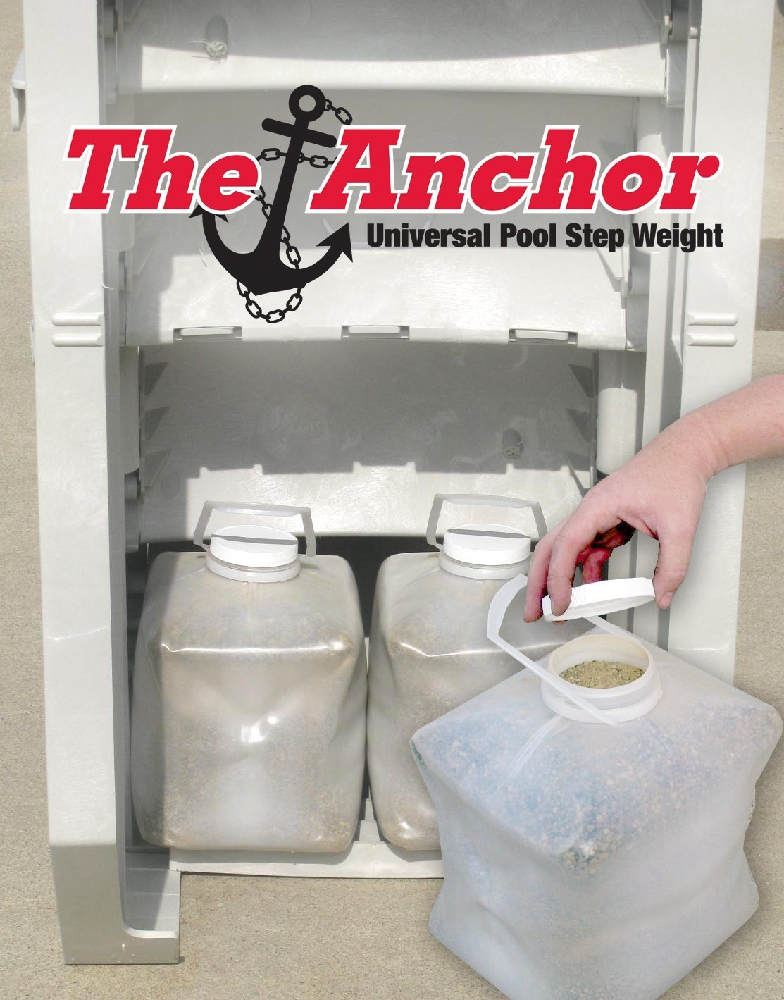 Main Access Anchor Universal Pool Step Weight by Main Access