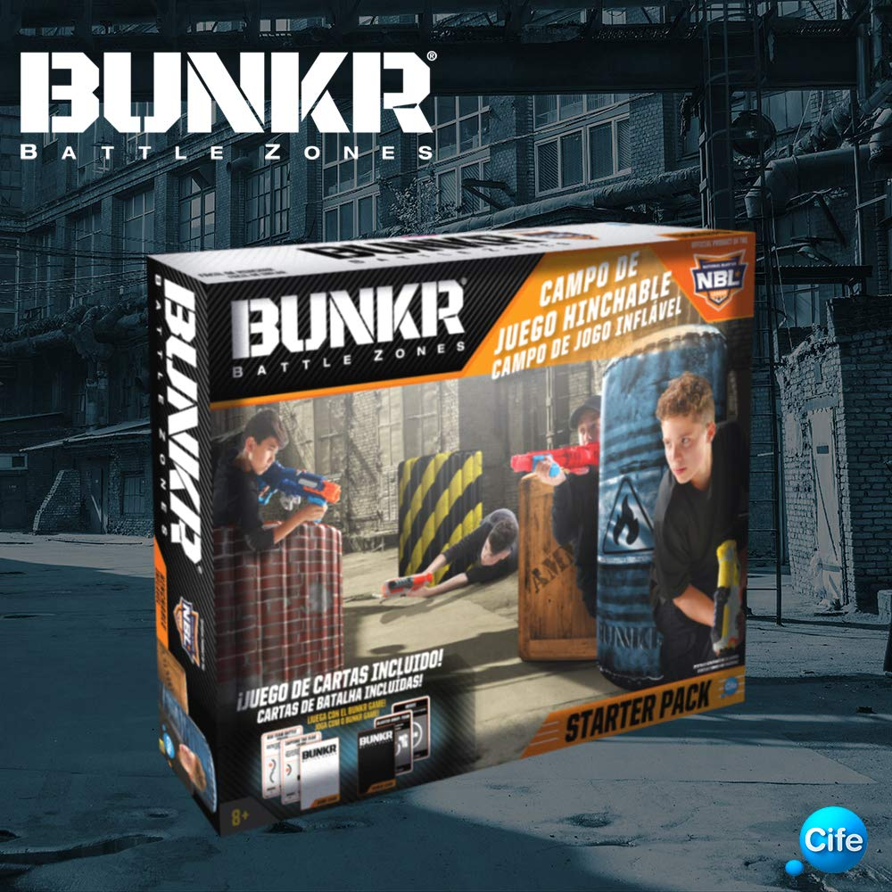 Bunkr- Battle Zone Starter Pack, Multicolor (Cife Spain 41646)
