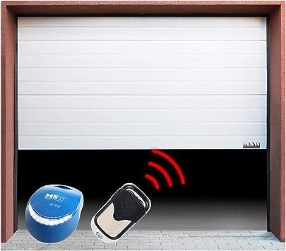 MSW - GD2500-I -Puerta seccional Set - 2500 x 2125 mm-Cadena: Amazon.es: Bricolaje y herramientas