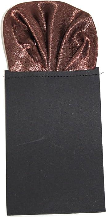 402262d71dd2 Men's Pre-Folded Satin Wedding Pocket Square (21 Colours Available ...