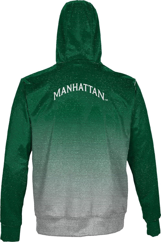 ProSphere Manhattan College Mens Fullzip Hoodie Gradient