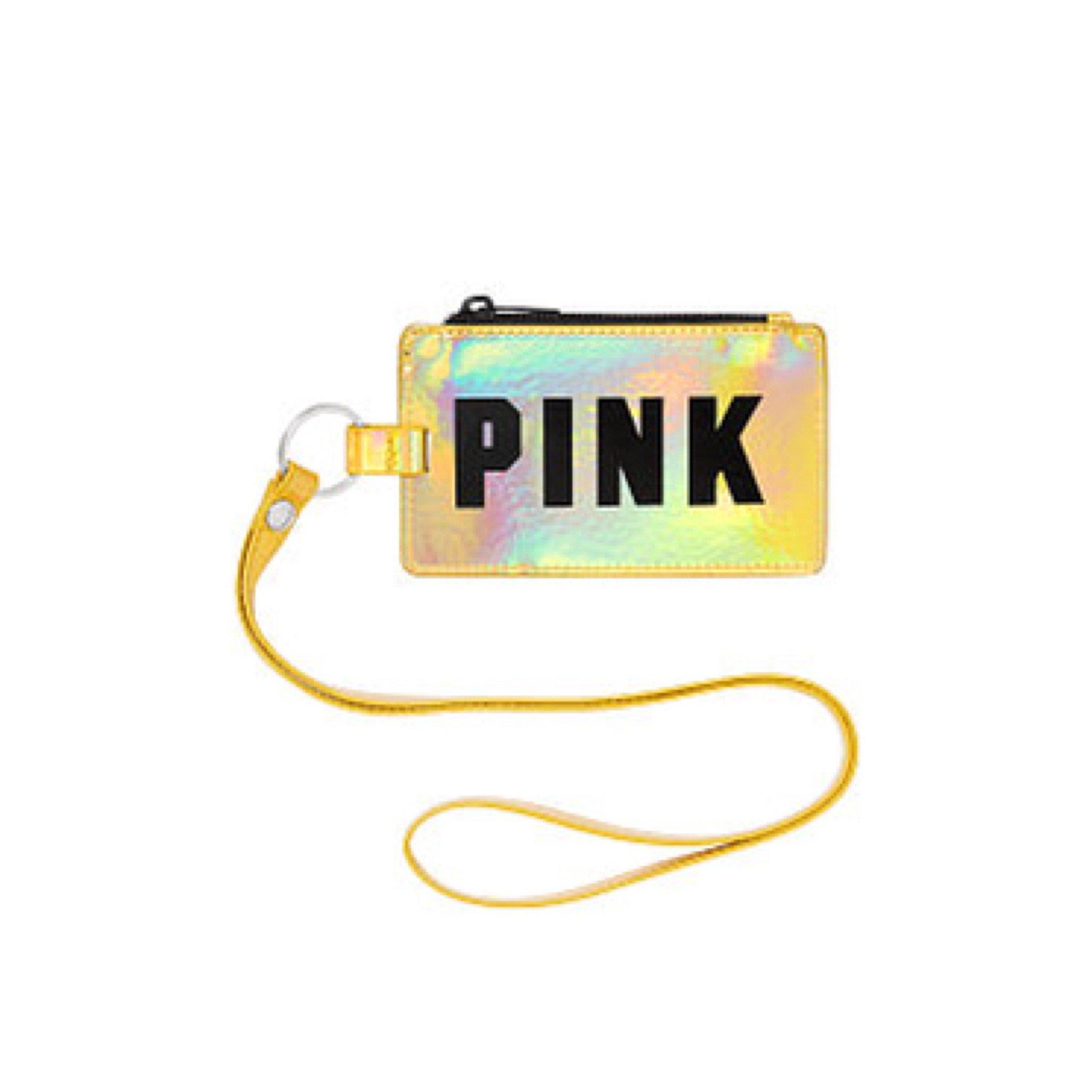 Victoria's Secret PINK Lanyard Gold