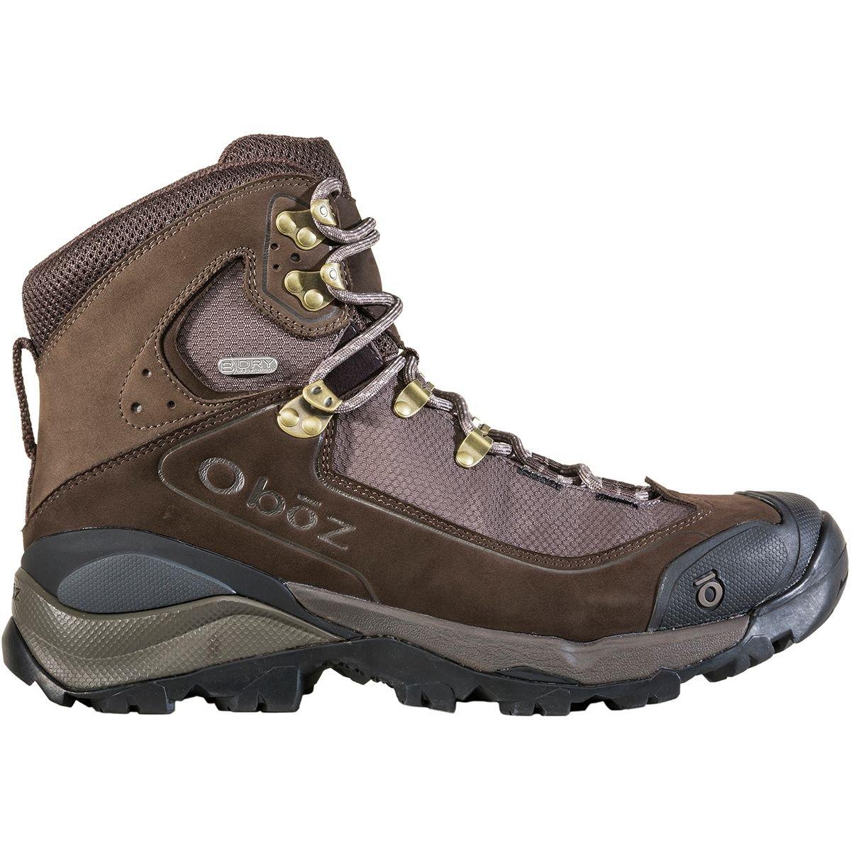 Oboz Men's Wind River III Waterproof Boot B074RMS5V7 9 D US|Bark Brown