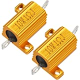 Wire Wound Pack of 2 550V 270 Ohm Resistance NTE Electronics 10W127 Resistor 5/% Tolerance 10W Axial Leaded
