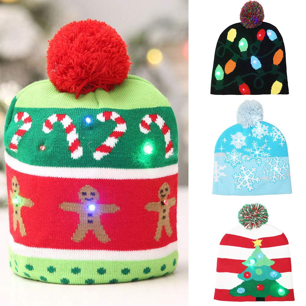TM Baby Headbands Toddler Kid Beanie for Boys Girls Cap Cotton Knitted Ball Warm Christmas Hats Outtop