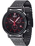 DETOMASO Herren-Armbanduhr Milano Analog Quarz DT1052-M