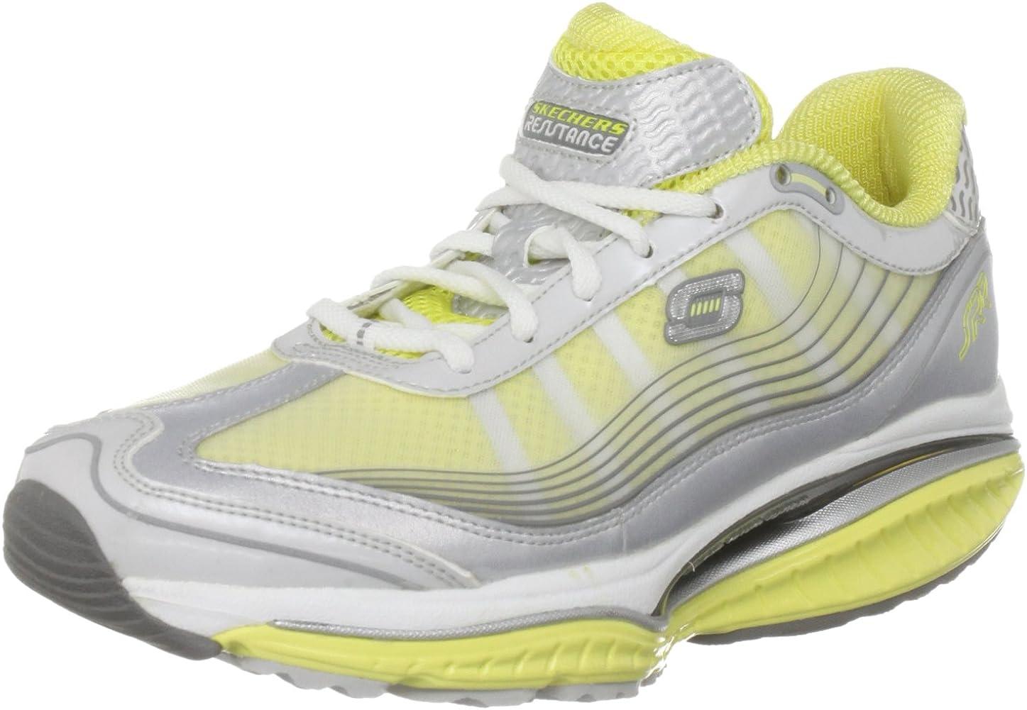 Skechers 12373 - Zapatos para Mujer, Color Plateado, Talla 35.5 ...
