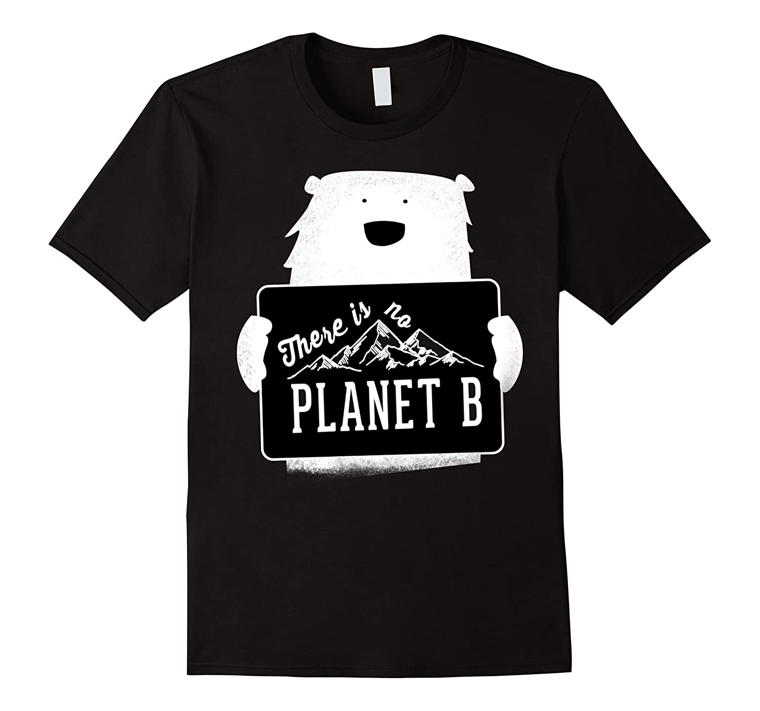 March Climate T-shirt There Is No Planet B Polar Bear Show-RT