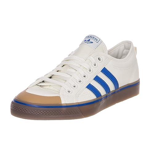 7ac8586b47c4 adidas Nizza Sneakers - Off-White Blue GUM4 (UK 6.5)  Amazon.co.uk ...