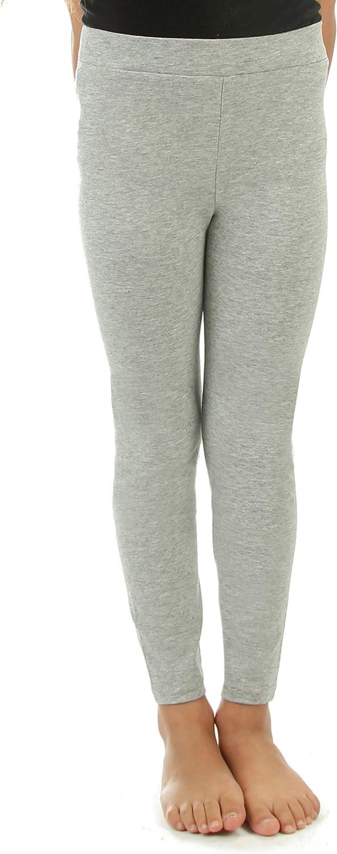 Silky Toes Girls Leggings Basic School Premium 100/% Cotton Footless Leggings