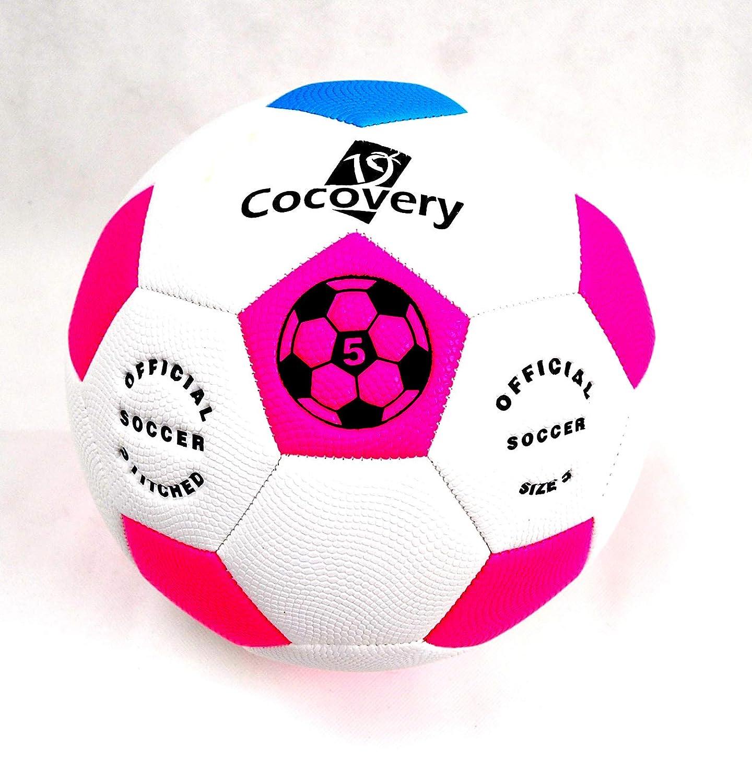 Balón Fútbol Playa-Neón-Cocovery19 (Rosa): Amazon.es: Deportes y ...